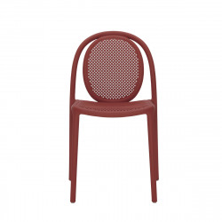 Lot de 4 chaises Remind 3730, Pedrali, rouge
