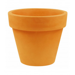 Pot Maceta diamètre 80 x hauteur 69 cm, simple paroi, Vondom orange