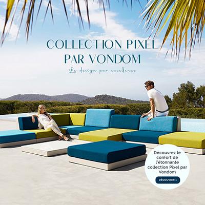 Découvrez la collection Pixel par Vondom
