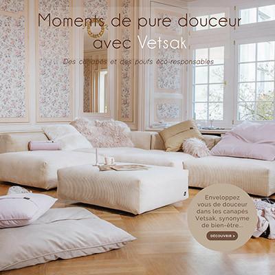 Découvrez la nouveauté : les canapés Vetsak !